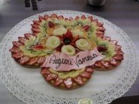 torta di compleanno - torta frutta