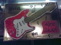 Torta di compleanno senza glutine - chitarra