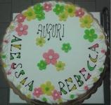 torta compleanno fiori
