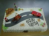 torta compleanno macchinine