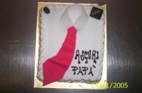 Festa del papà:Torta-cravatta-2