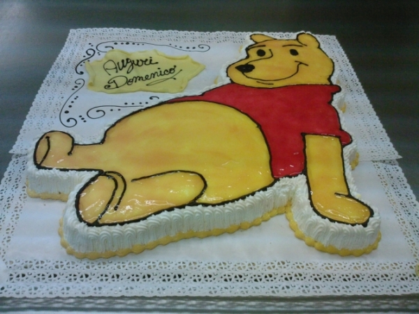torta di compleano - winny the pooh