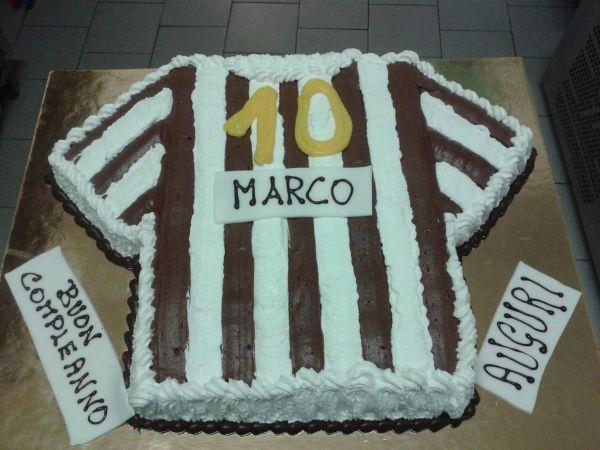 torta compleanno maglia juve