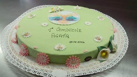 torta comunione verde